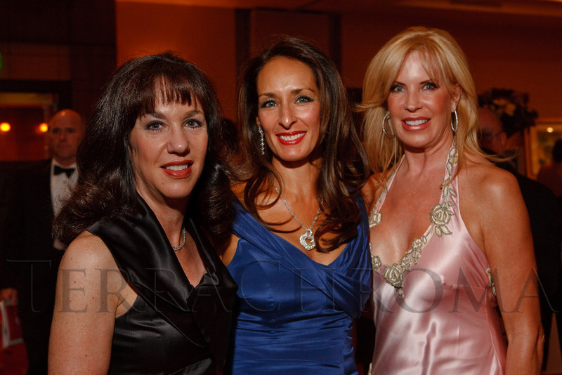 (Denver, Colorado, Oct. 1, 2011)<br /> Ellen Robinson, Brenda King, Carylyn Dooley.  The Carousel Ball, presented by the Children's Diabetes Foundation at Denver, benefiting The Barbara Davis Center for Childhood Diabetes, at Denver Marriott City Center in Denver, Colorado, on Saturday, Oct. 1, 2011.<br /> STEVE PETERSON