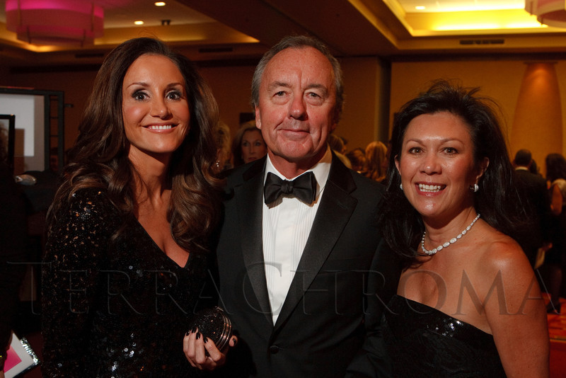 (Denver, Colorado, Oct. 1, 2011)<br /> Wendy Mitchell, Porter Wharton III, and Deana Perlmutter.  The Carousel Ball, presented by the Children's Diabetes Foundation at Denver, benefiting The Barbara Davis Center for Childhood Diabetes, at Denver Marriott City Center in Denver, Colorado, on Saturday, Oct. 1, 2011.<br /> STEVE PETERSON