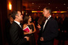 (Denver, Colorado, Oct. 1, 2011)<br /> Walt DeHaven and Wendy Aiello speak with Gov. John Hickenlooper.  The Carousel Ball, presented by the Children's Diabetes Foundation at Denver, benefiting The Barbara Davis Center for Childhood Diabetes, at Denver Marriott City Center in Denver, Colorado, on Saturday, Oct. 1, 2011.<br /> STEVE PETERSON