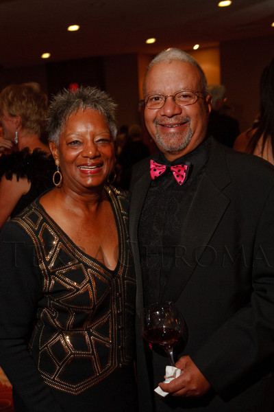 (Denver, Colorado, Oct. 1, 2011)<br /> Faye and Dr. Reggie Washington.  The Carousel Ball, presented by the Children's Diabetes Foundation at Denver, benefiting The Barbara Davis Center for Childhood Diabetes, at Denver Marriott City Center in Denver, Colorado, on Saturday, Oct. 1, 2011.<br /> STEVE PETERSON
