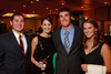 (Denver, Colorado, Oct. 1, 2011)<br /> Justin Puckett and Hillary Higgins with Blake Higgins and Callie Fiedler.  The Carousel Ball, presented by the Children's Diabetes Foundation at Denver, benefiting The Barbara Davis Center for Childhood Diabetes, at Denver Marriott City Center in Denver, Colorado, on Saturday, Oct. 1, 2011.<br /> STEVE PETERSON