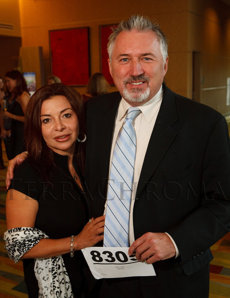 "(Denver, Colorado, Oct. 15, 2011)<br /> Jeanette Wellers and Lloyd Lewis.  The ""Be Beautiful Be Yourself Fashion Show 2011,"" benefiting the Global Down Syndrome Foundation, at the Hyatt Regency Denver at the Colorado Convention Center in Denver, Colorado, on Saturday, Oct. 15, 2011.<br /> STEVE PETERSON"