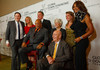 "(Denver, Colorado, Oct. 15, 2011)<br /> Kirby Winfield, Dana Vollbracht, Quincy Jones (front), John McGinley, Leslie and Bill Vollbracht, Alison Winfield, and Beverly Johnson.  The ""Be Beautiful Be Yourself Fashion Show 2011,"" benefiting the Global Down Syndrome Foundation, at the Hyatt Regency Denver at the Colorado Convention Center in Denver, Colorado, on Saturday, Oct. 15, 2011.<br /> STEVE PETERSON"