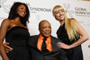 "(Denver, Colorado, Oct. 15, 2011)<br /> Jasmine, Quincy Jones, and Rachael.  The ""Be Beautiful Be Yourself Fashion Show 2011,"" benefiting the Global Down Syndrome Foundation, at the Hyatt Regency Denver at the Colorado Convention Center in Denver, Colorado, on Saturday, Oct. 15, 2011.<br /> STEVE PETERSON"