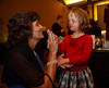 "(Denver, Colorado, Oct. 15, 2011)<br /> Gretchen Danner and Abigail Meyer.  Meyer is one of Meyers' teachers.  The ""Be Beautiful Be Yourself Fashion Show 2011,"" benefiting the Global Down Syndrome Foundation, at the Hyatt Regency Denver at the Colorado Convention Center in Denver, Colorado, on Saturday, Oct. 15, 2011.<br /> STEVE PETERSON"