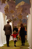 """(Denver, Colorado, Oct. 15, 2011)<br /> Hallway to the ballroom for dinner.  The """"Be Beautiful Be Yourself Fashion Show 2011,"""" benefiting the Global Down Syndrome Foundation, at the Hyatt Regency Denver at the Colorado Convention Center in Denver, Colorado, on Saturday, Oct. 15, 2011.<br /> STEVE PETERSON"""