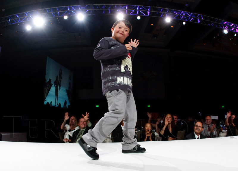 "(Denver, Colorado, Oct. 15, 2011)<br /> Pabilito Montoya Baca.  The ""Be Beautiful Be Yourself Fashion Show 2011,"" benefiting the Global Down Syndrome Foundation, at the Hyatt Regency Denver at the Colorado Convention Center in Denver, Colorado, on Saturday, Oct. 15, 2011.<br /> STEVE PETERSON"