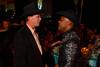 (Denver, Colorado, Oct. 22, 2011)<br /> David Blake meets Denver mayor Michael Hancock.  Western Fantasy, benefiting Volunteers of America, Colorado Branch, at the National Western Events Center in Denver, Colorado, on Saturday, Oct. 22, 2011.<br /> STEVE PETERSON
