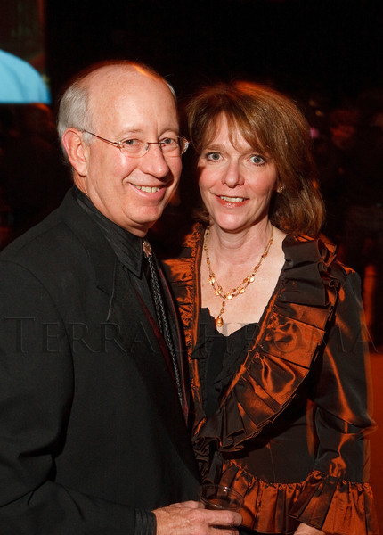 (Denver, Colorado, Oct. 22, 2011)<br /> Jeff and Nancy Lamb Thompson.  Western Fantasy, benefiting Volunteers of America, Colorado Branch, at the National Western Events Center in Denver, Colorado, on Saturday, Oct. 22, 2011.<br /> STEVE PETERSON