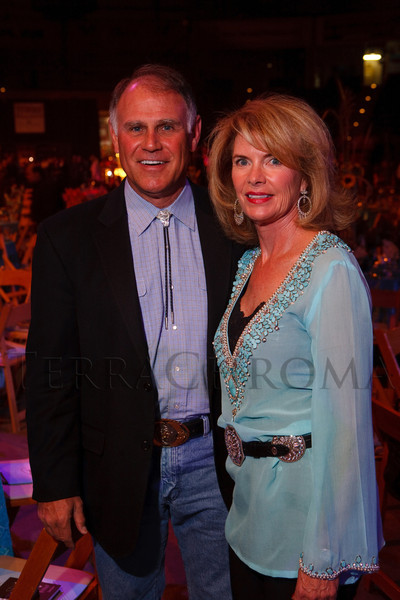 (Denver, Colorado, Oct. 22, 2011)<br /> Event chairs Tom and Dianne Honig.  Western Fantasy, benefiting Volunteers of America, Colorado Branch, at the National Western Events Center in Denver, Colorado, on Saturday, Oct. 22, 2011.<br /> STEVE PETERSON
