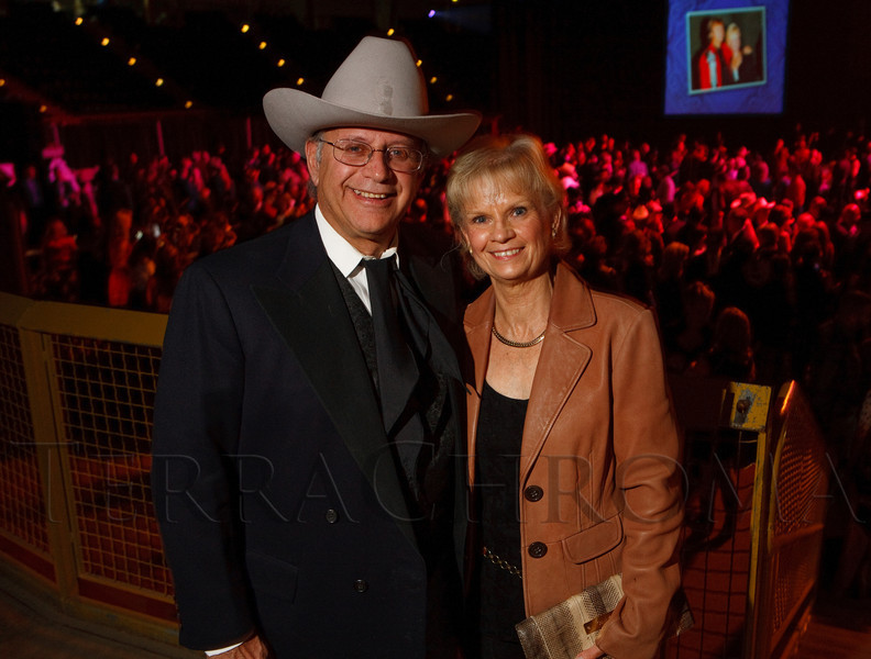 (Denver, Colorado, Oct. 22, 2011)<br /> Dr. Michael and Lyn Schaffer.  Western Fantasy, benefiting Volunteers of America, Colorado Branch, at the National Western Events Center in Denver, Colorado, on Saturday, Oct. 22, 2011.<br /> STEVE PETERSON