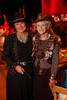 (Denver, Colorado, Oct. 22, 2011)<br /> Carla McElroy and Sandee Walling.  Western Fantasy, benefiting Volunteers of America, Colorado Branch, at the National Western Events Center in Denver, Colorado, on Saturday, Oct. 22, 2011.<br /> STEVE PETERSON