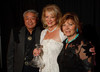 (Denver, Colorado, Oct. 22, 2011)<br /> John Sie, Sharon Magness Blake, and Anna Sie.  The Sie's are the 2011 Humanitarian Award Recipients.  Western Fantasy, benefiting Volunteers of America, Colorado Branch, at the National Western Events Center in Denver, Colorado, on Saturday, Oct. 22, 2011.<br /> STEVE PETERSON