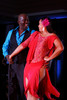 (Denver, Colorado, Oct. 29, 2011)<br /> Greg Moore and Nina Henderson Moore dance to Latin jazz.  Dancing with the Denver Stars Gala, benefiting Cleo Parker Robinson Dance, at the Renaissance Denver Hotel in Denver, Colorado, on Saturday, Oct. 29, 2011.<br /> STEVE PETERSON