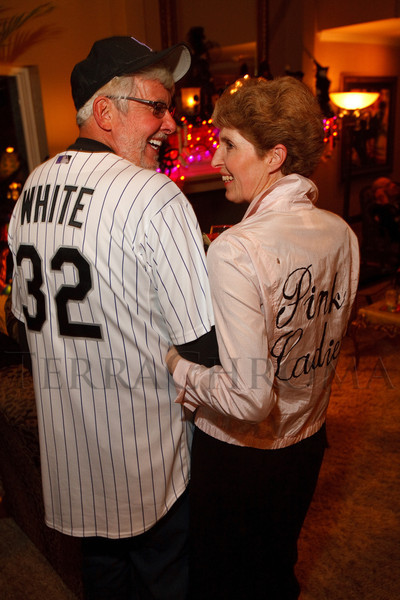 (Denver, Colorado, Oct. 29, 2011)<br /> Jim and Janice White.  Halloween party at the home of Denise and Brent Snyder in Denver, Colorado, on Saturday, Oct. 29, 2011.<br /> STEVE PETERSON