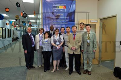 7321 Russian Educator Visitors at the STEM School 10-10-11
