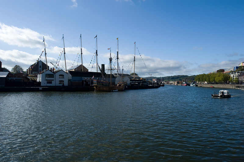A harbor arm in Bristol