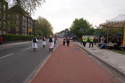 The London Marathon 2011