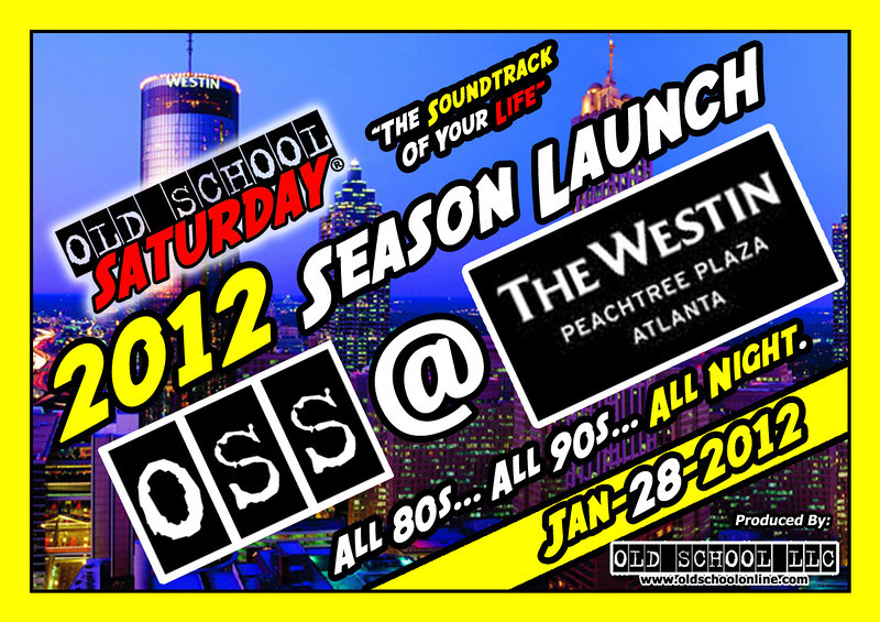 """We start our 2012 OSS SEASON at The Westin Peachtree Plaza ::: Jan.28.2012 ::: info, tickets, VIP, and birthday packages:   <a href=""""http://www.oldschoolsaturday.com"""">http://www.oldschoolsaturday.com</a>"""