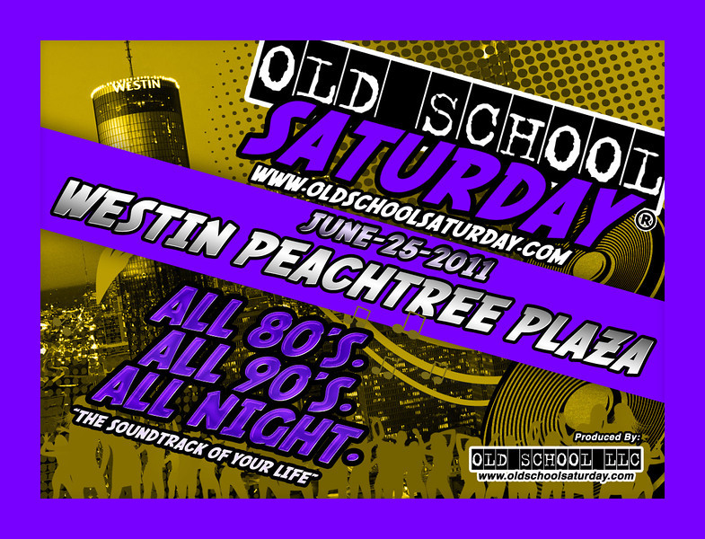 "Join us June-25-2011 at The Westin Peachtree Plaza Downtown.  Tickets, info, and birthday packages:   <a href=""http://www.oldschoolsaturday.com"">http://www.oldschoolsaturday.com</a>"