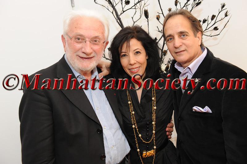 Lucien Clergue, Margarite Almeida, James Cavello
