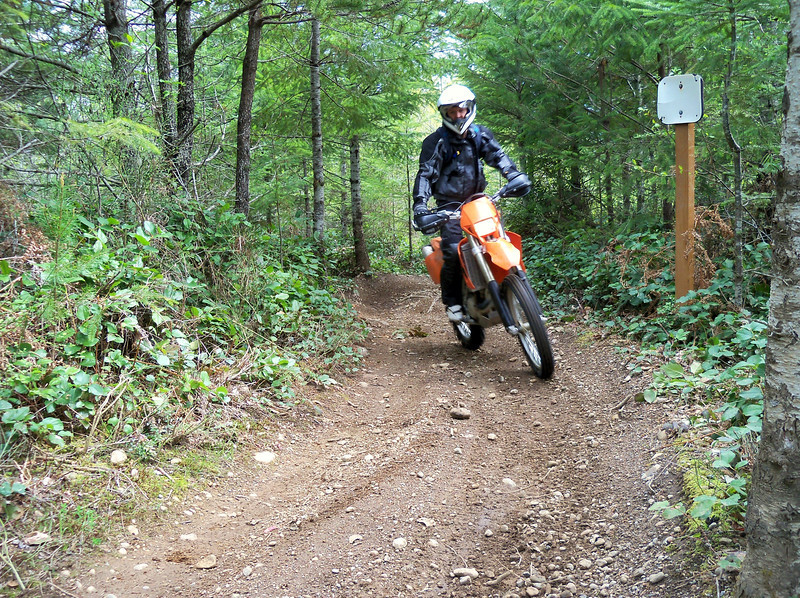 Zac and his KTM 525