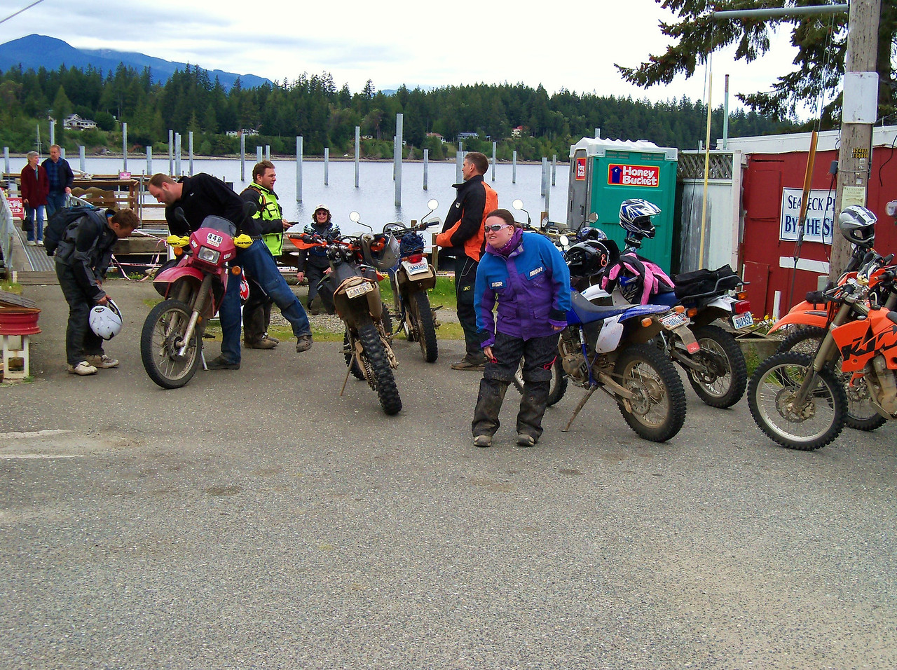 "Getting ready for the Urban Enduro.. ""The Gorst Twisty's"" are next.."
