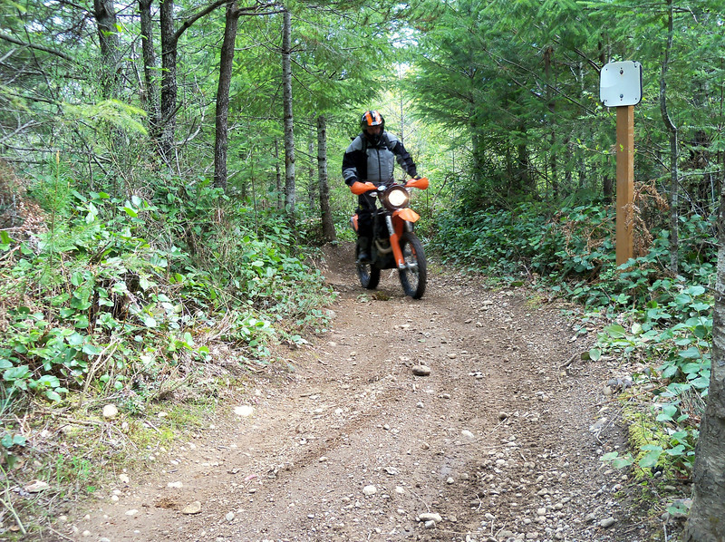 Rory on his KTM 450