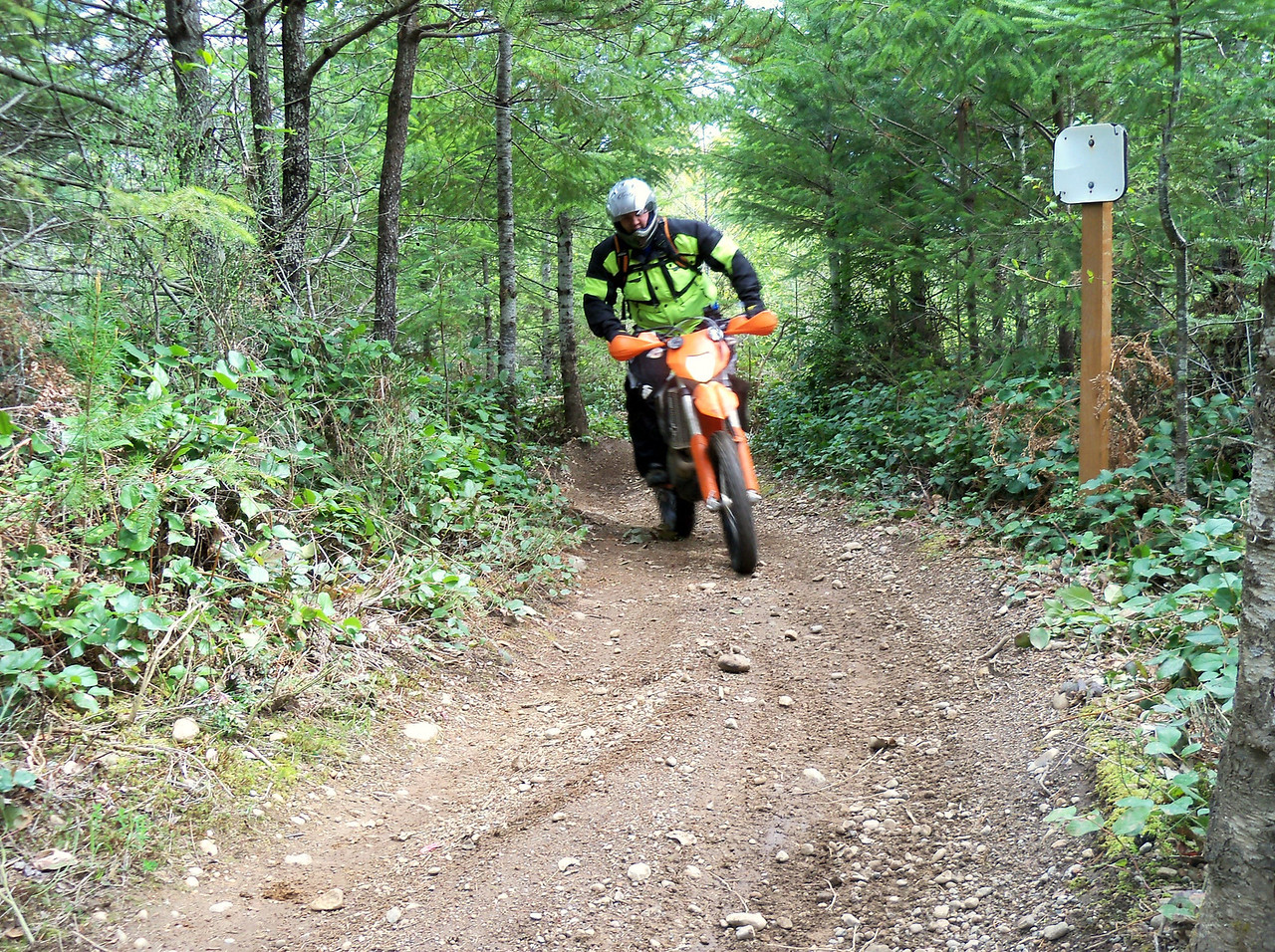 Justin and his KTM 530