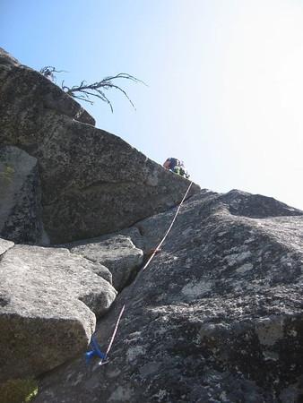 Leavenworth Rock Climbing - August