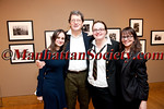 Fanny Griffiths Ferrato, ? Katherine Holden, Donna Ferrato attend  PHILIP JONES GRIFFITH Maelstrom Co-Curated by Fanny Ferrato & Katherine Holden Opening Reception on Thursday, March 17, 2011 at Howard Greenberg Gallery, 41 East 57th Street, Suite 1406, New York City, NY (PHOTO CREDIT: ©2011 Manhattan Society.com by Chris London)