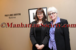Donna Ferrato, Heather Holden attend PHILIP JONES GRIFFITH Maelstrom Co-Curated by Fanny Ferrato & Katherine Holden Opening Reception on Thursday, March 17, 2011 at Howard Greenberg Gallery, 41 East 57th Street, Suite 1406, New York City, NY (PHOTO CREDIT: ©2011 Manhattan Society.com by Chris London)