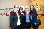Katherine Holden, Donna Ferrato,Heather Holden, Fanny Griffiths Ferrato attend PHILIP JONES GRIFFITH Maelstrom Co-Curated by Fanny Ferrato & Katherine Holden Opening Reception on Thursday, March 17, 2011 at Howard Greenberg Gallery, 41 East 57th Street, Suite 1406, New York City, NY (PHOTO CREDIT: ©2011 Manhattan Society.com by Chris London)