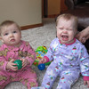 COUSINS PEYTON NOVAK AND MIA JOHNSON WILL GROW UP TO BE BEST OF FRIENDS