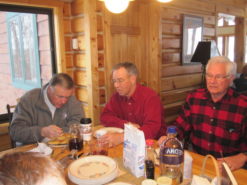TOM BUNBURY, DOUG PETERSON AND STAN KOENIG HAD SOME SERIOUS CONVERSATIONS ABOUT EVERYTHING