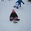 PEYTON ON A SNOWBOARD (NOT BAD FOR 15 MONTHS OLD)