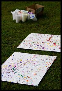 Jackson Pollock at age 4