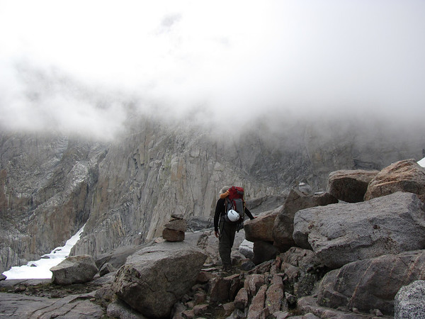 PALISADE GLACIER: JULY 31 - AUGUST 2, 2011