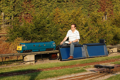 The miniature railway at Ruddington is always worth a look, and today didn't disappoint! (01/10/2011)