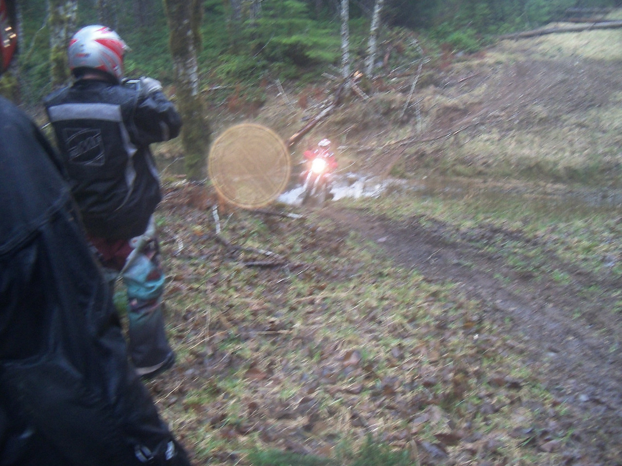Bill utilized all the side trails and old grades to make a fun & very challenging ride..
