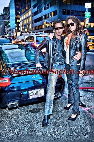 PORSCHE DESIGN Celebrates VOGUE Fashion's Night Out on Thursday, September 8, 2011 at Porsche Design Store, 624 Madison Avenue, New York City, NY  PHOTO CREDIT: ©Manhattan Society.com 2011