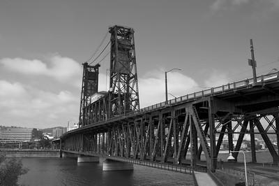 Steel Bridge, Portland, Oregon