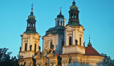 Prague's architecture is amazing.