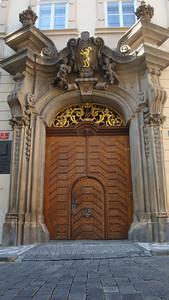 Prague has some seriously cool gates.