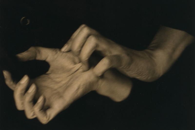 Georgia o'Keefe's hands, by Stiegletz