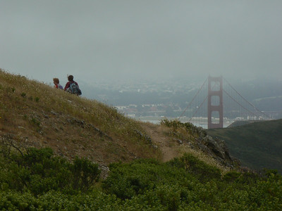 And finally the GG-bridge is in sight.