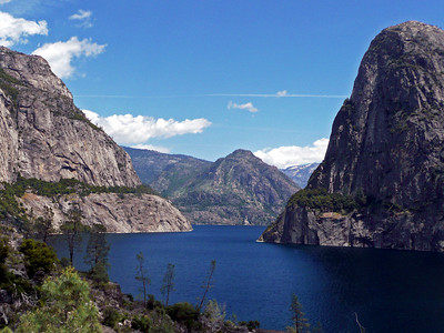 Hetch Hetchy teaches me patience as she holds her breath under the lake behind the O'Shaughnessy Dam.