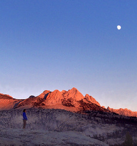 Wishing Upon a Moon. Echo Peaks in the Cathedral Area.