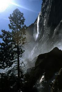Hetch Hetchy's Tueulala Falls.
