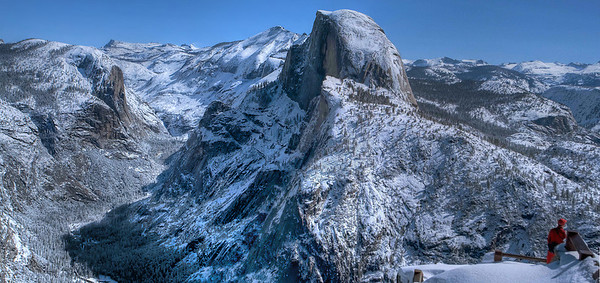 Snow covered Yosemite reminds that beauty has no season.